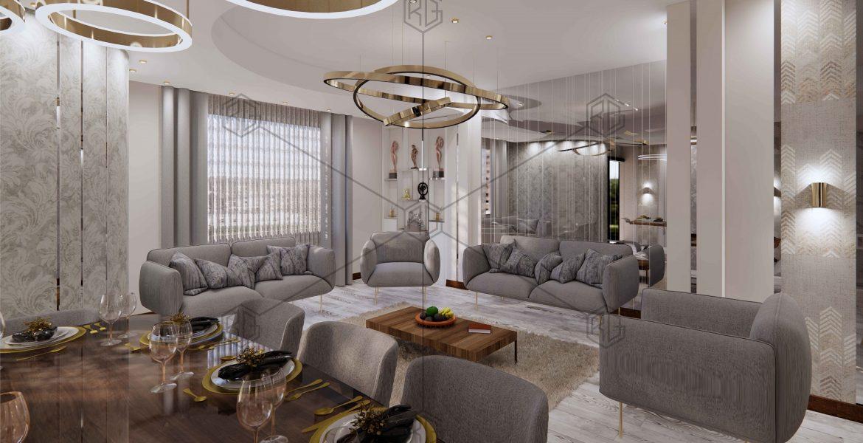طراحی دکوراسیون داخلی خانم مهدوی